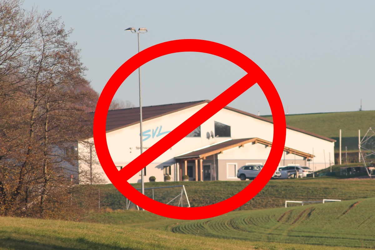 Stocksporthalle geschlossen